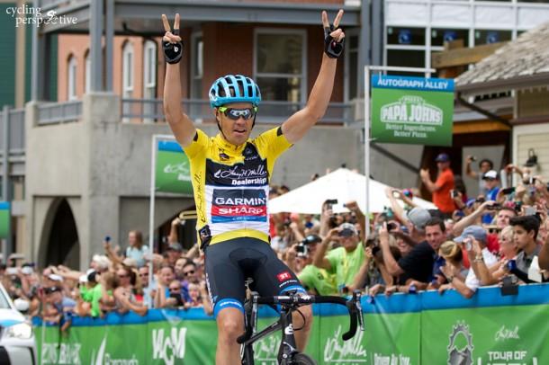 Tom Danielson wins Tour of Utah 2014