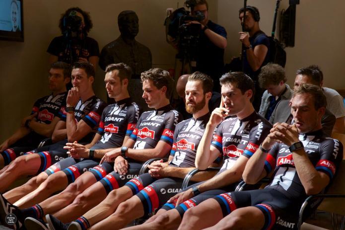 Albert Timmer, Ramon Sinkeldam, Georg Preidler, Koen de Kort, Simon Geschke, Tom Dumoulin, John Degenkolb, Team Giant-Alpecin, Tour de France 2015