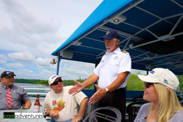 Our cruise aboard Destiny Cruise was entertaining & informational