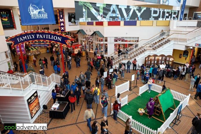 Family Pavilion, Navy Pier, Chicago, Illinois