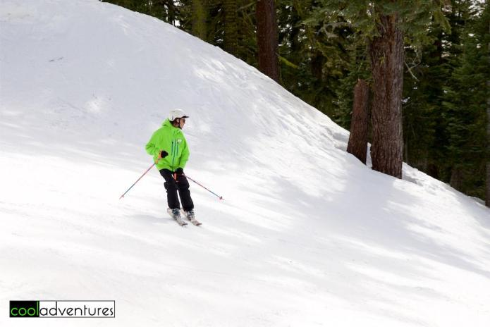 Skiing at Sierra at Tahoe Ski Resort