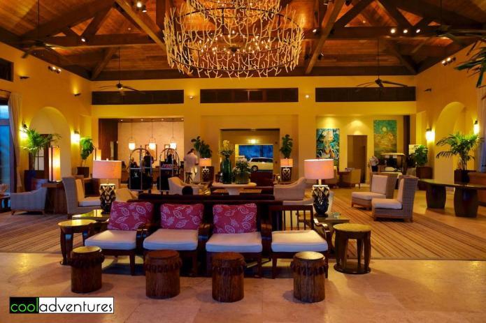 Santa Barbara Resort lobby in Curacao