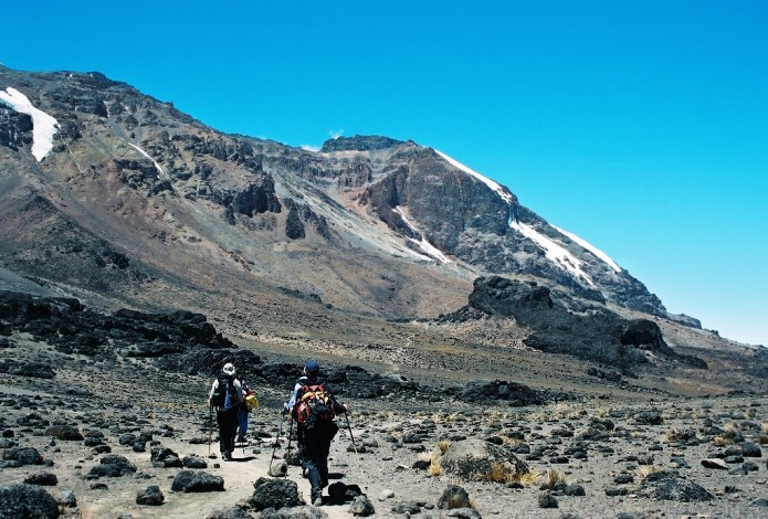 Climbing Kilimanjaro Machame Route Day 3