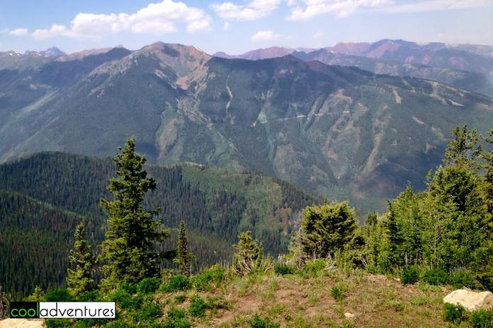Hiking Richmond Ridge, Aspen, Colorado