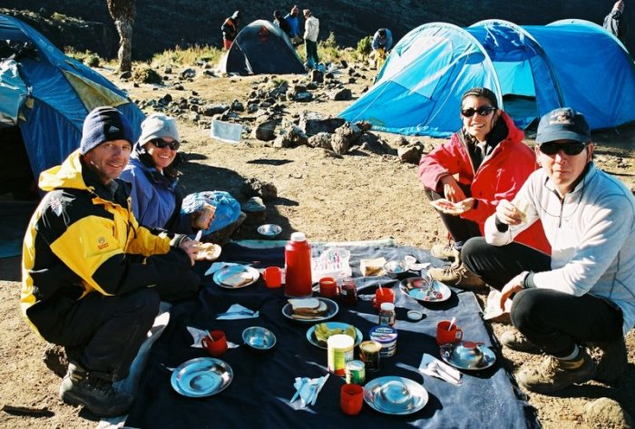 Kilimanjaro Machame Route Day 4