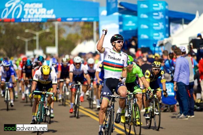 Peter Sagan wins Amgen Tour of California 2016 Stage 1