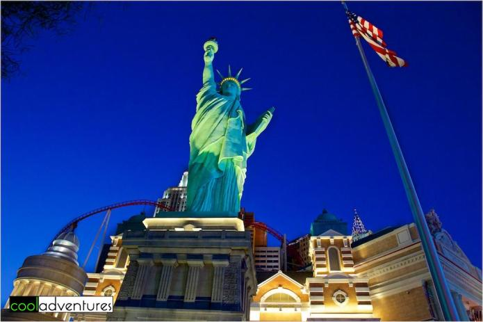 Statue of Liberty at New York New York in Las Vegas, Nevada