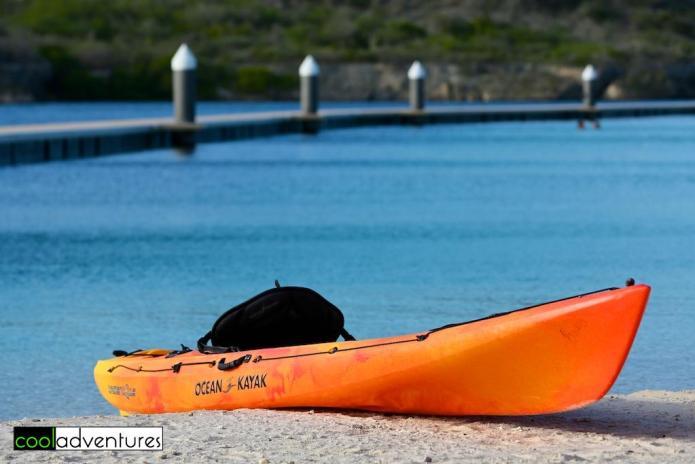 Ocean kayaking, Santa Barbara Beach & Golf Resort, Curacao