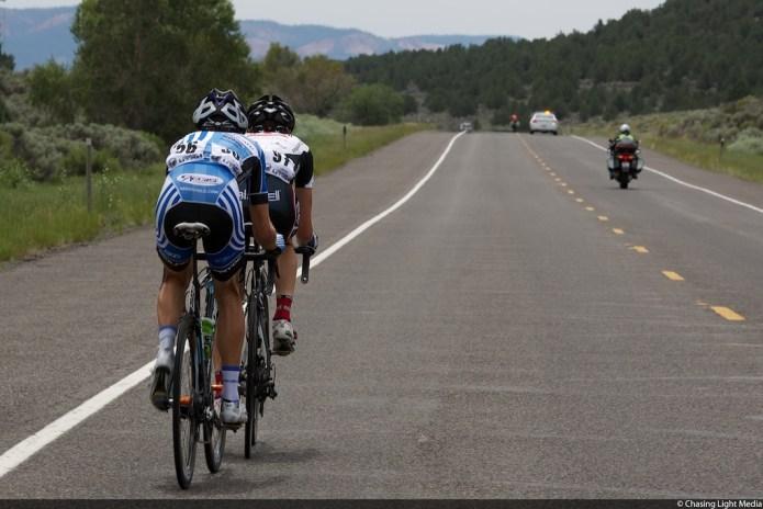 Tour of Utah Stage 1 Breakaway Chris Jones, Michael Torckler