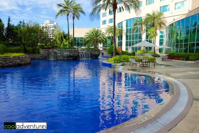 JW Marriott Quito pool area, Quito, Ecuador