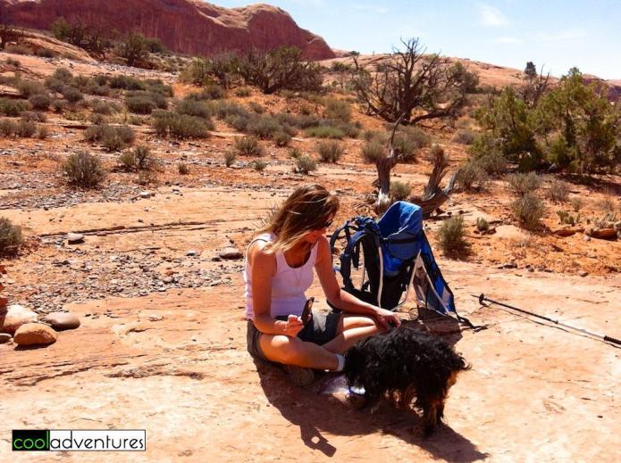 Moab, Hiking the Corona Arch Trail