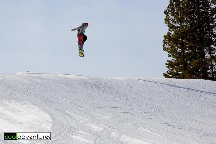 Terrain park, Mt. Rose Ski Tahoe, Lake Tahoe, Nevada