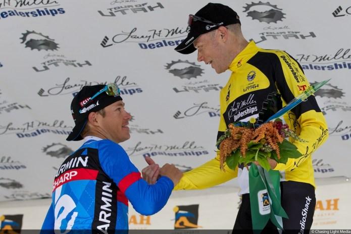 Chris Horner, Tom Danielson Tour of Utah 2013 Stage 5