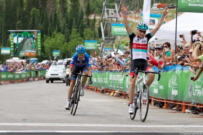 Chris Horner Tour of Utah 2013 Stage 5