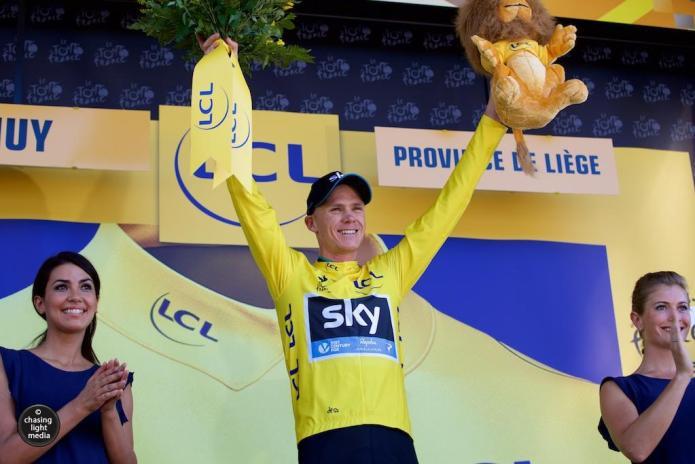 Chris Froome, Tour de France Stage 3