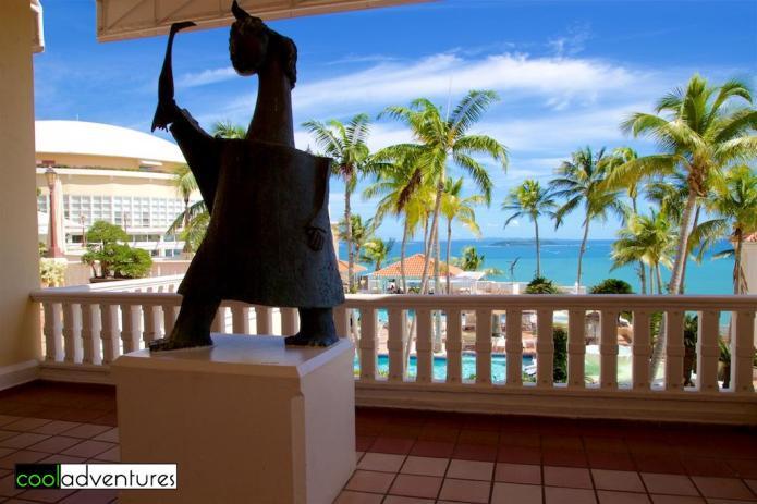 View from lobby area, El Conquistador, Fajardo, Puerto Rico