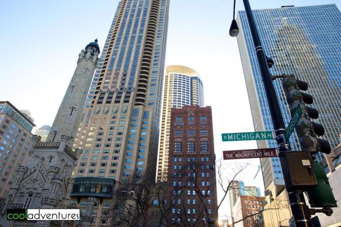 North Michigan Avenue, The Magnificent Mile, Chicago, Illinois