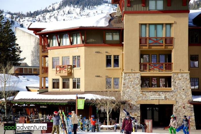 The Village at Squaw Valley, Lake Tahoe, California