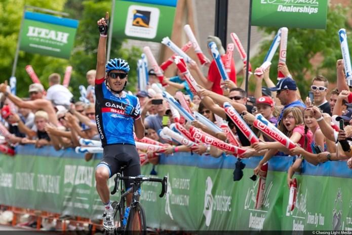 Lachlan Morton, Tour of Utah 2013 Stage 3