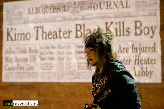 Jordan Jonas, Albucreepy Downtown Ghost Walk, Albuquerque, New Mexico