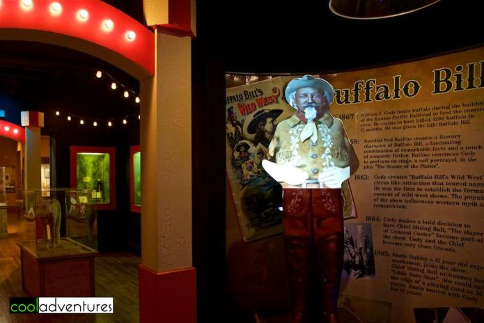 Buffalo Bill exhibit, Buckhorn Saloon and Texas Ranger Museum, San Antonio, Texas