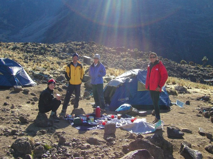 Climbing Kilimanjaro Machame Route Day 4