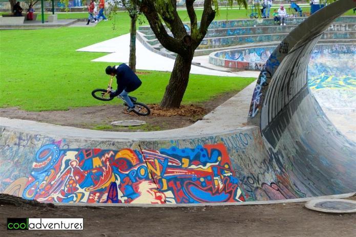 La Carolina Park Skateboard Park, Quito, Ecuador
