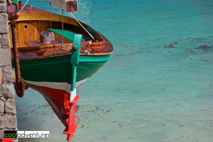 Boat at Eden Rock, Saint Barthélemy