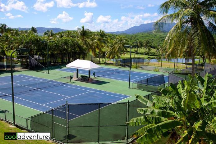 Tennis Center, El Conquistador, A Waldorf Astoria Resort, Fajardo, Puerto Rico