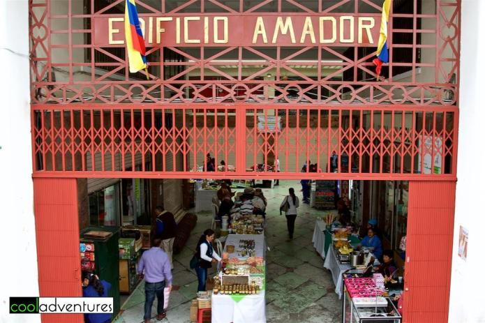 Things to do in Quito: El Pasaje Amador, Old Town