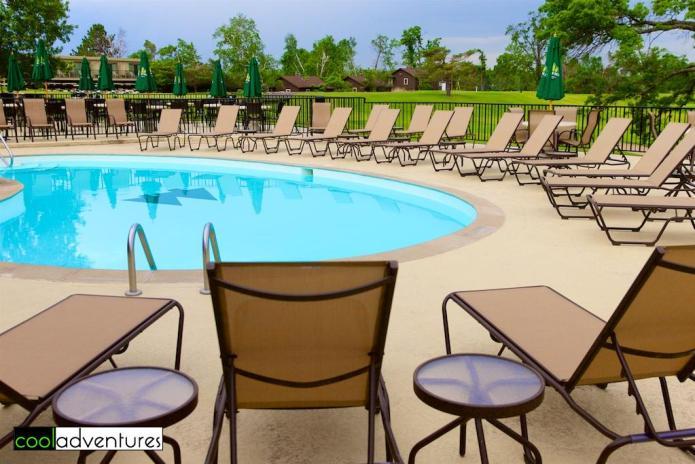 Swimming pool at Madden Inn and Golf Club