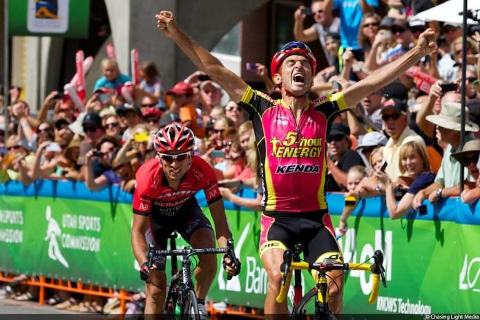Tour of Utah 2013 Stage 6, Francisco Mancebo, 5 Hour Energy by Kenda