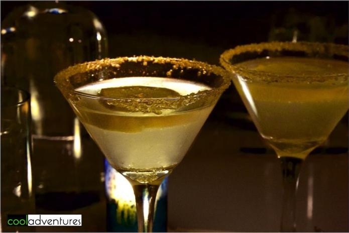 Lemon drop martini, Signature Grill, JW Marriott Starr Pass, Tucson, Arizona