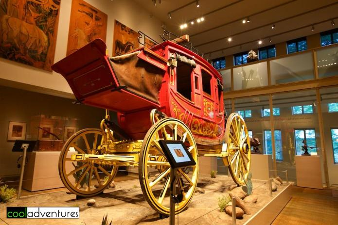 Wells Fargo Stagecoach, The Briscoe Western Art Museum, San Antonio, Texas