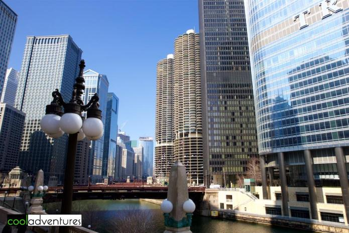 Strolling in Chicago, Illinois