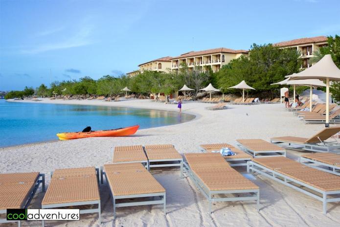 Beach lagoon, Santa Barbara Resort, Curacao