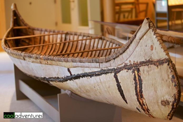 Canoe at the Mille Lacs Indian Museum