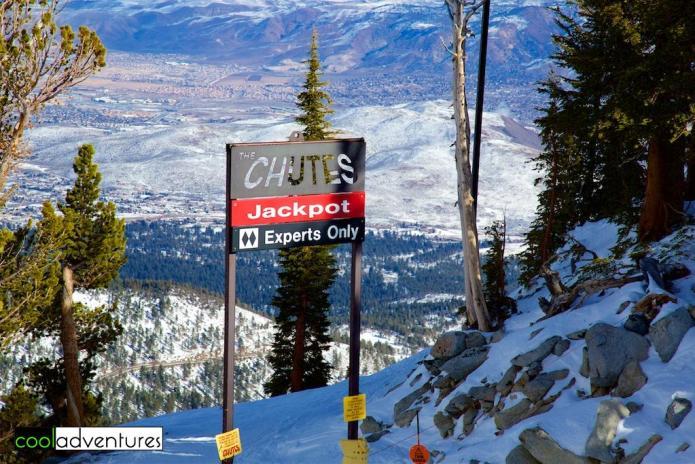 The Chutes, Mt. Rose Ski Tahoe, Lake Tahoe, Nevada