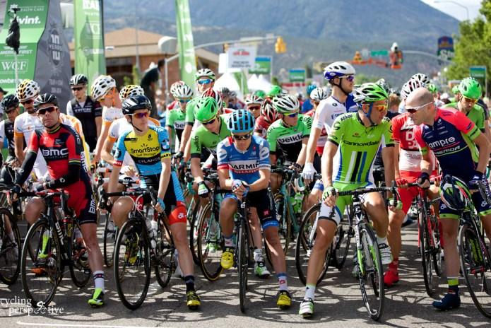 Tour of Utah 2014 Stage 1 start line