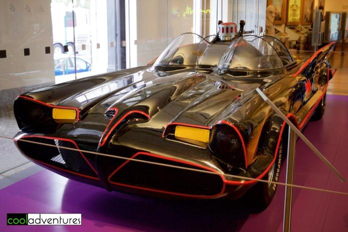 Batmobile from the 1966 TV Series, New-York Historical Society Museum & Library