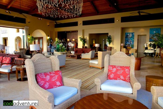 Lobby seating, Santa Barbara Beach Resort in Curacao