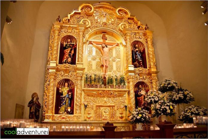 San Fernando Cathedral Altar, San Antonio, Texas