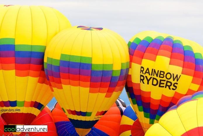 Rainbow Ryders Hot Air Balloons, Albuquerque, New Mexico