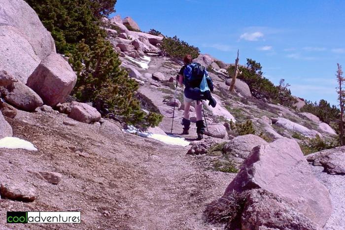 Climbing Pikes Peak via Barr Trail