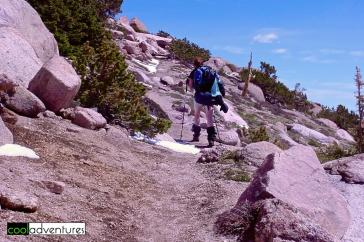 Climbing Pikes Peak via Barr Trail