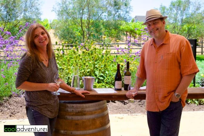 Kim Hull & Andy Barker, Martin Ray Vineyards and Winery, Santa Rosa, California