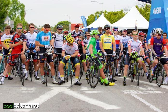 Amgen Tour of California 2016 Stage 2 start line