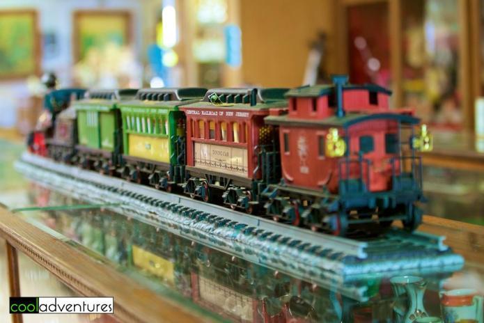Miniature train, Pioneer Village, Paul Bunyan Land, Brainerd, Minnesota