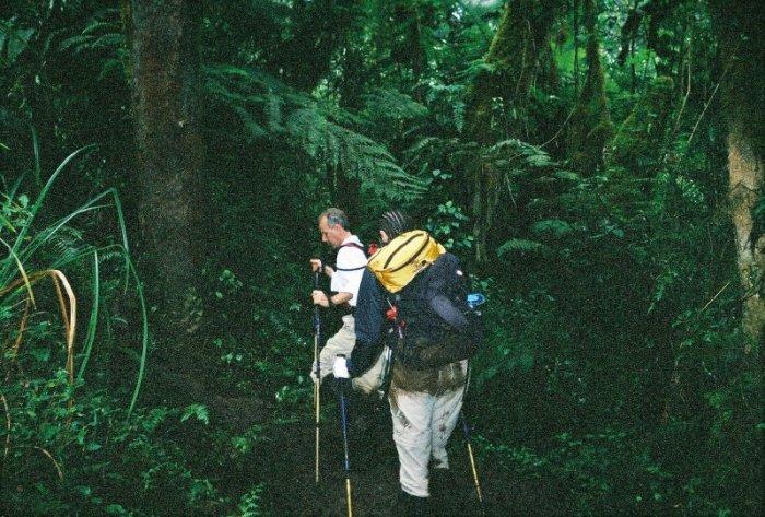 Kilimanjaro Machame Route Day 1