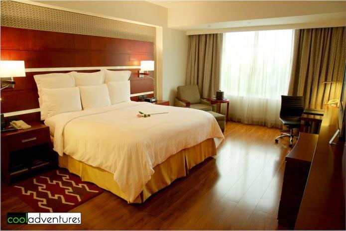 JW Marriott Quito hotel room